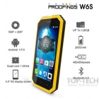 W6S Waterproof, 4,5 inch