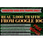 5,000 Traffic from Google