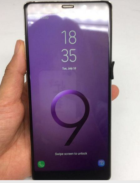 Galaxy NOTE 9, Finger iD